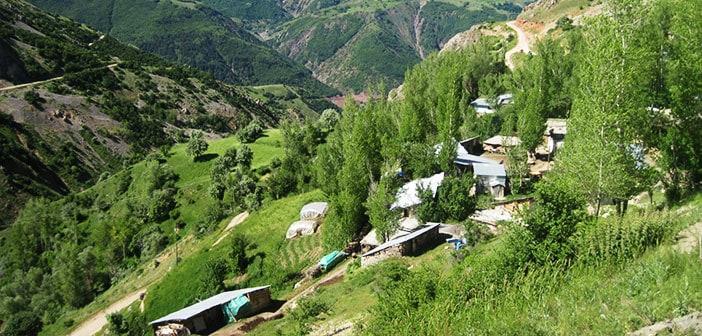 Erzincan Refahiye Baloğlu Köyü