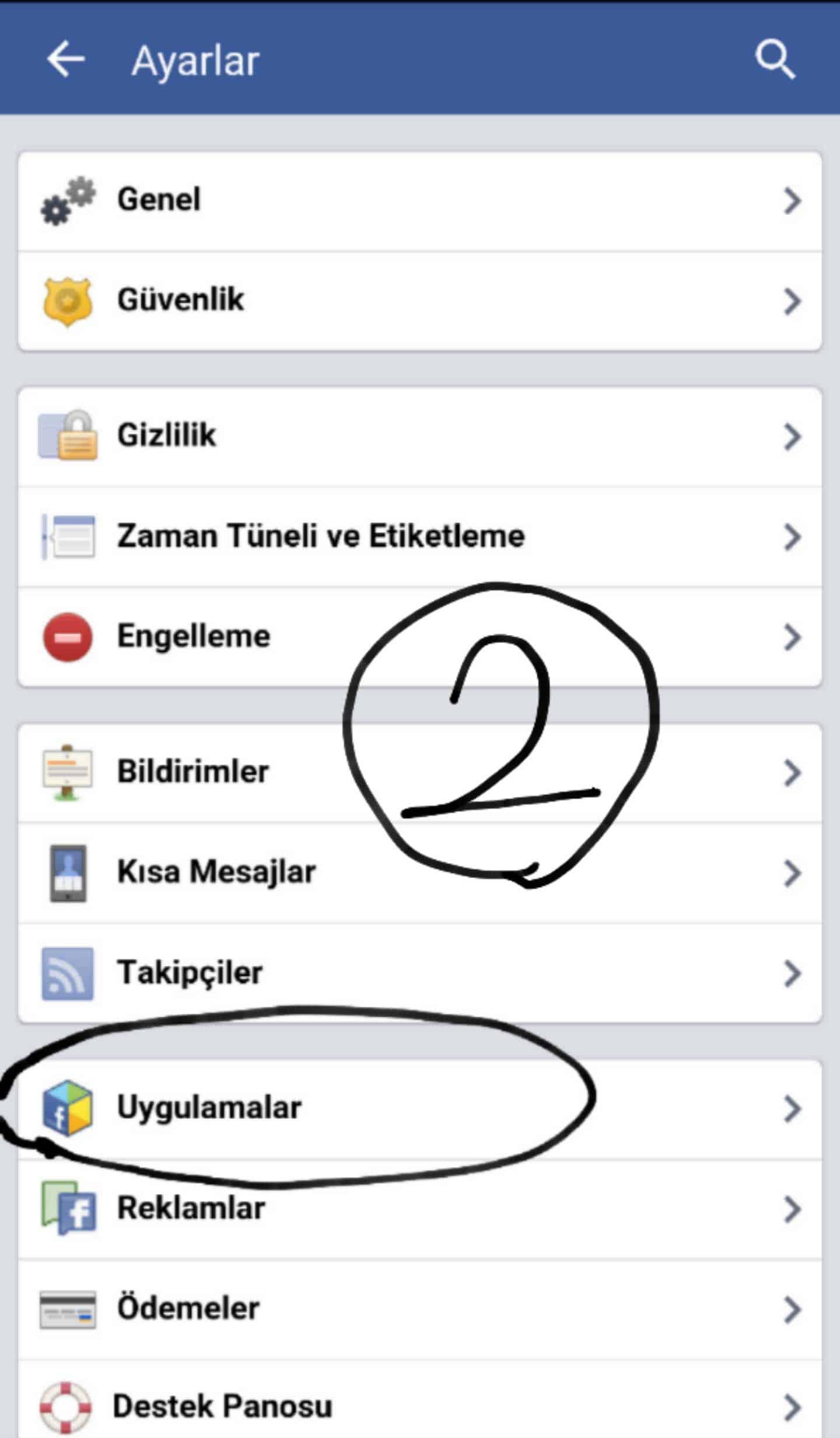 facebook oyun engelleme 2