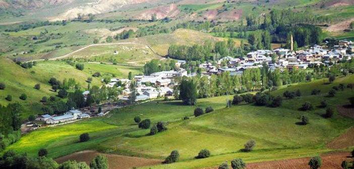 Erzincan Refahiye Ekecik Köyü