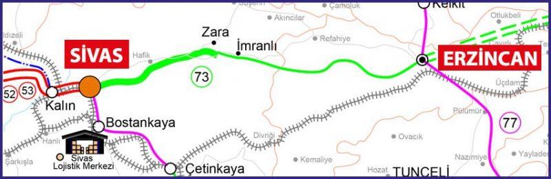 Erzincan hızlı tren hattı istasyonları
