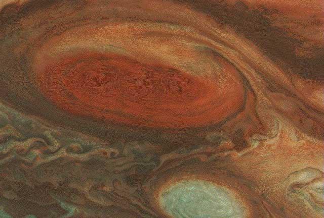 Jüpiter'in büyük kırmızı noktası