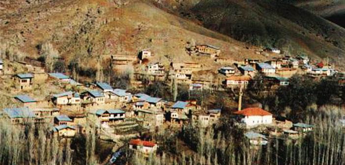 Erzincan Kemah Hakbilir - Pekeriç Köyü