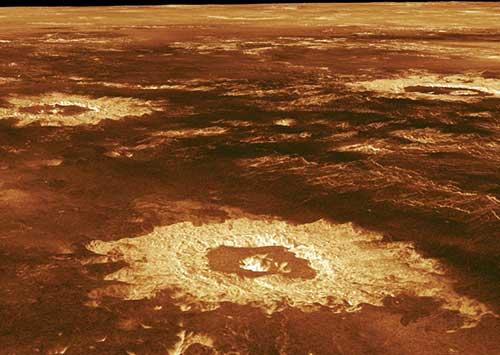 Venüs'ün Yüzeyi