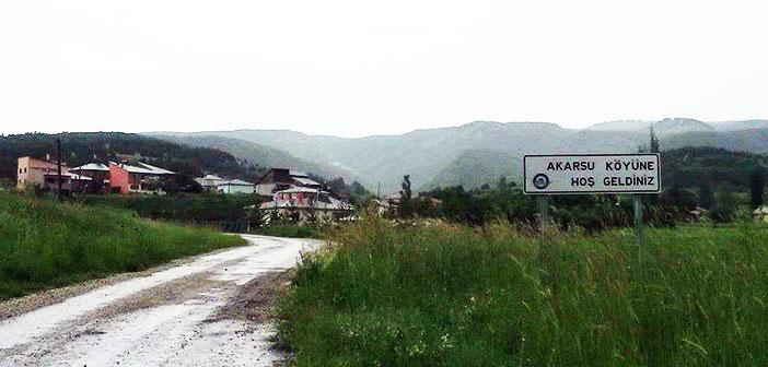 Erzincan Refahiye Akarsu Köyü (Alakise)