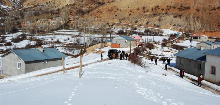Erzincan Refahiye Armutlu Köyü