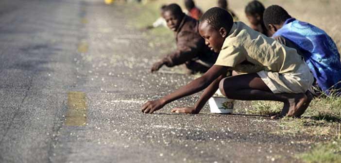 afrika açlık