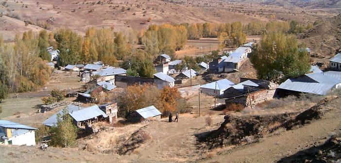 Erzincan Refahiye Erecek Köyü (Mank)