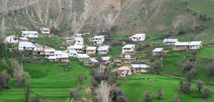 Erzincan Refahiye Çaltı Köyü