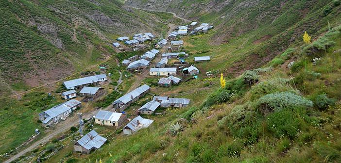 Erzincan Refahiye Çamlımülk Köyü