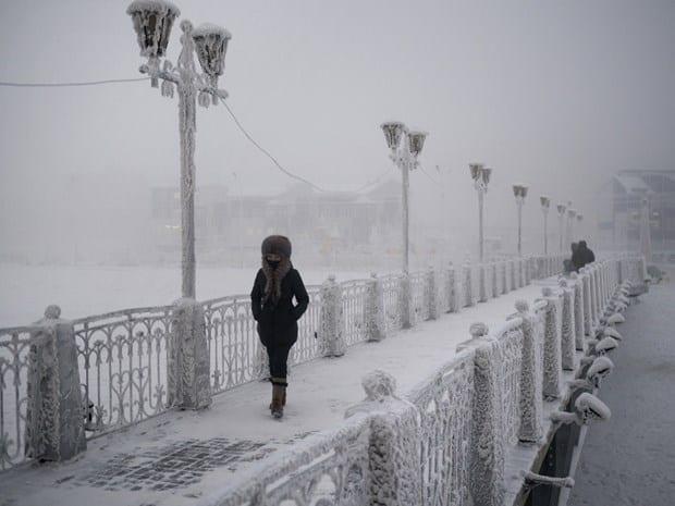 En soğuk şehirler