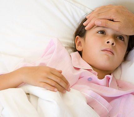 Bebeklerde soğuk algınlığı grip teşhisi ve tedavisi